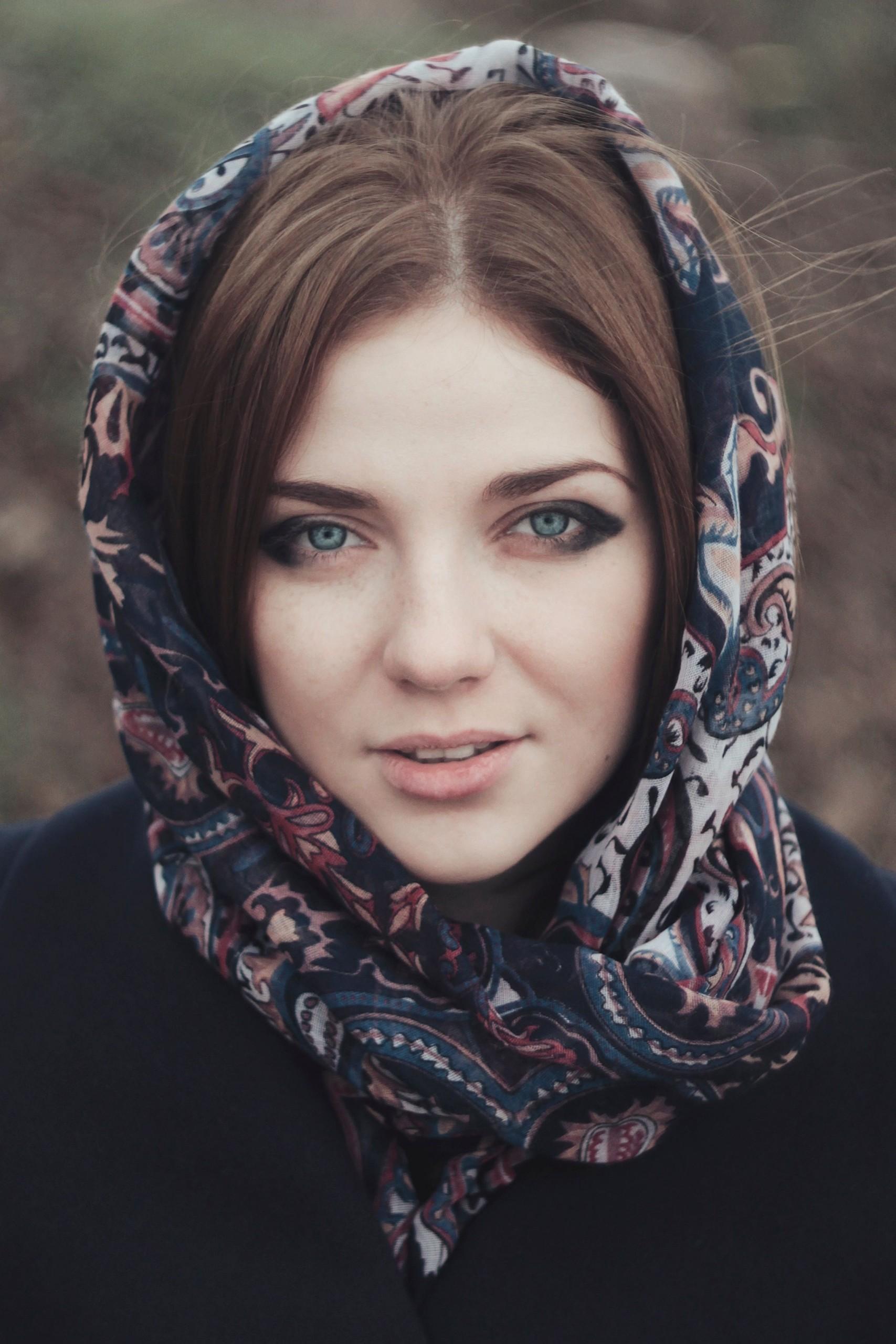Восточная девушка.